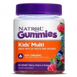 Tpbvsk cho bé Natrol Gummies Kids Multi, Hộp 90 viên