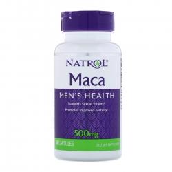 Thực phẩm bảo vệ sức khỏe Natrol Maca Men's Health 500mg, Chai 60 viên