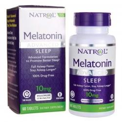 Tpbvsk giúp ngủ ngon Natrol Melatonin Fast Dissolve 10mg, Hộp  60 Tablets