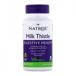 Tpbvsk giúp bổ gan Natrol Milk Thistle Digestive Health 525mg, Chai 60 viên