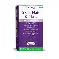 Viên Uống Làm Đẹp Da Ngăn Rụng Tóc Natrol Skin Hair Nails