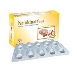 Nattokinate MDP tăng cường lưu thông tuần hoàn não