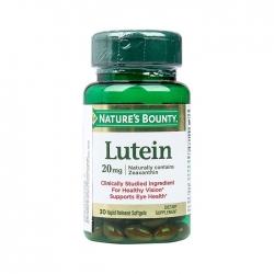 Natures Bounty Lutein 20mg giúp bổ mắt và tăng cường thị lực