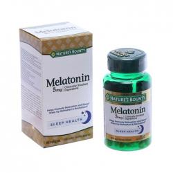 Nature's Bounty Super Strength Melatonin 5mg giúp ngủ ngon