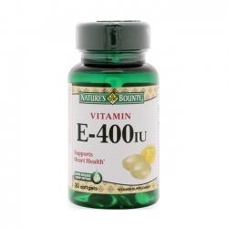 Nature's Bounty Vitamin E-400IU