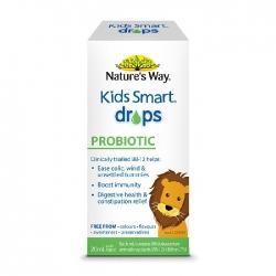 Nature's Way Kids Smart Drops Probiotic, bổ sung men vi sinh tốt cho hệ tiêu hóa của bé, Hộp 20ml