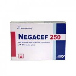 Thuốc kháng sinh PMP Negacef 250mg