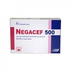 Thuốc kháng sinh PMP Negacef 500mg