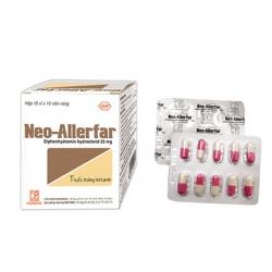 Pharmedic Neo-Allerfar, Hộp 100 viên