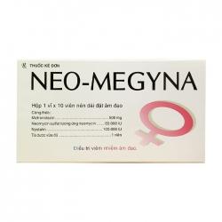 Neo-Megyna F.T Pharma 1 vỉ x 10 viên
