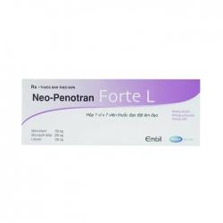 Thuốc phụ khoa Neo-Penotran Forte L, Hộp 7 viên
