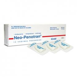 Thuốc phụ khoa Neo Penotran, Hộp 14 viên