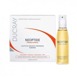 Tinh chất phục hồi và giảm gãy rụng Ducray Neoptide Lotion Thinning Hair Women 3x30ml