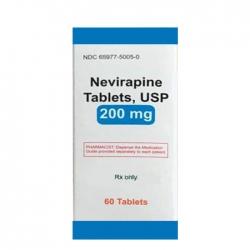 Thuốc Hetero Navirapine tablets USP 200mg, Hộp 60 viên
