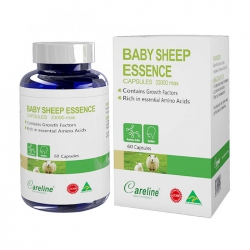Nhau thai cừu Careline Baby Sheep Essence, Chai 60 viên