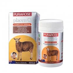 Nhau Thai Cừu Purarose Placen Q COMPLEX 3000mg
