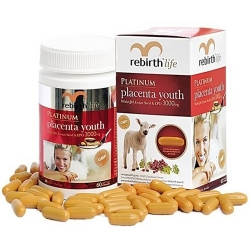 Nhau thai cừu Rebirth Life 3000mg