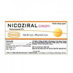Nicoziral Cream 2% Hasan 1 tuýp x 5g