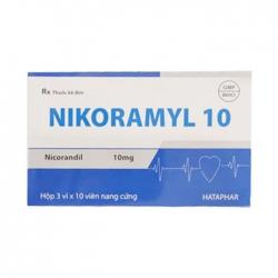 Nikoramyl 10mg Hataphar 3 vỉ x 10 viên