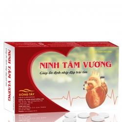 Tpbvsk Ninh tâm vương giúp ổn định nhịp đập tim