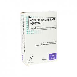 Thuốc  Noradrenaline Base Aguettant 1mg/ml