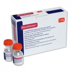 Thuốc tiêm Novoseven RT 1mg, Hộp 1 lọ