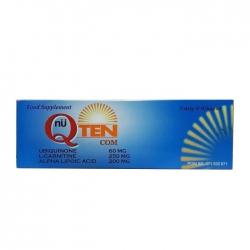 Thuốc tim mạch Nu Q Ten Com, Hộp 30 viên