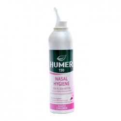 Nước biển xịt mũi cho trẻ sơ sinh Humer 150 Nasal Hygiene Infants Children Chai 150ml