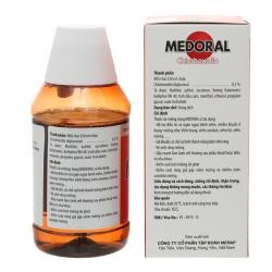 Nước Súc Miệng Điều Trị Viêm Họng Medoral 250 ml