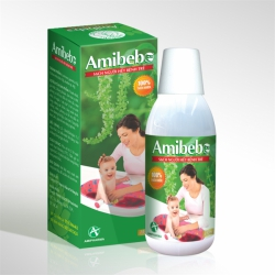 Nước tắm trẻ em Amibebe 250ml