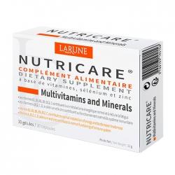 Nutricare Multivitamins And Minerals Larune 30 viên - Viên uống Bổ sung Muntivitamin