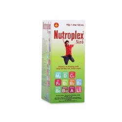 Nutroplex 120 Vitamin B1/B2 10mg/1,25mg, Chai 120ml