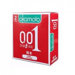Bao cao su Okamoto 0.01, Hộp 2 cái