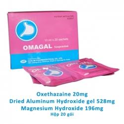 OMAGALSuspension  giúp điều trị đau dạ dày cấp và mãn tính, loét tá tàng, viêm thực quản