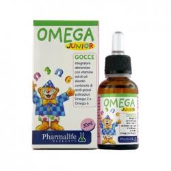 Tpbvsk hỗ trợ não bộ, tăng cường miễn dịch Omega Junior Gocce, Lọ 30ml