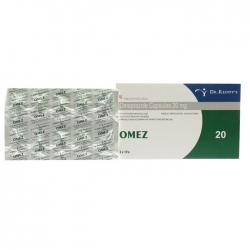 Thuốc điều trị loét dạ dày tá tràng Omez 20mg, 20 viên