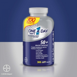One A Day Men 50+ Multivitamin | Chai 300 viên