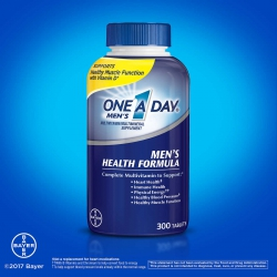 One A Day Men s Multivitamin Health Formula | Chai 300 viên