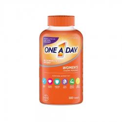 One A Day Women's Complete Multivitamin mẫu mới, Chai 300 viên