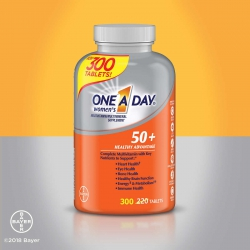 One A Day Women s 50+ Multivitamin, Chai 300 viên