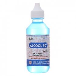 Cồn OPC Alcool 90 Xanh, Chai 60ml