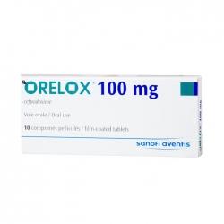 Thuốc Orelox 100mg, Hộp 10 viên