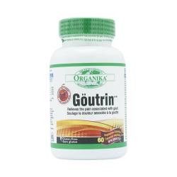 Tpbvsk giúp hỗ trợ bệnh Gout Organika Goutrin, Hộp 60 viên