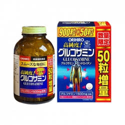 Tpbvsk xương khớp Orihiro Glucosamine 1500mg Nhật Bản, Chai 950 viên