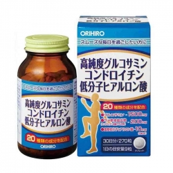 Orihiro Hight Purity Glucosamine Grain Economical Bottle giúp xương chắc khỏe