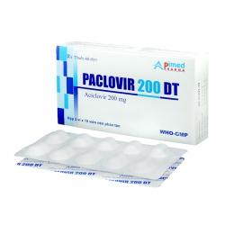 Paclovir 200 DT Apimed 3 vỉ x 10 viên