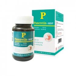 Pancretin - MDP kích thích tiêu hóa chống đầy hơi ăn không tiêu