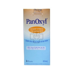 PanOxyl Soap Free Cleanser 60ml cho da nhờn mụn
