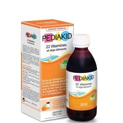 Pediakid bổ sung 22 Vitamin và khoáng chất cần thiết cho bé