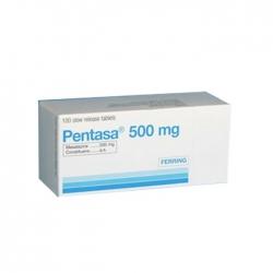 Thuốc tiêu hóa Pentasa 1g 100 viên